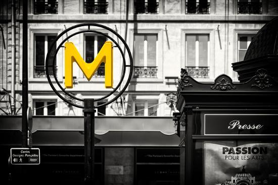 Paris Focus - Paris Métro-Philippe Hugonnard-Photographic Print
