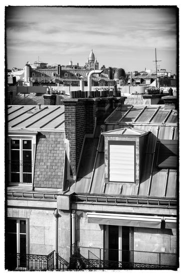 Paris Focus - Paris Roofs-Philippe Hugonnard-Photographic Print