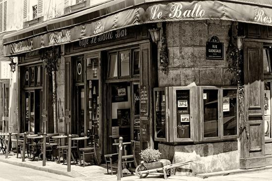 Paris Focus - Parisian Bar-Philippe Hugonnard-Photographic Print