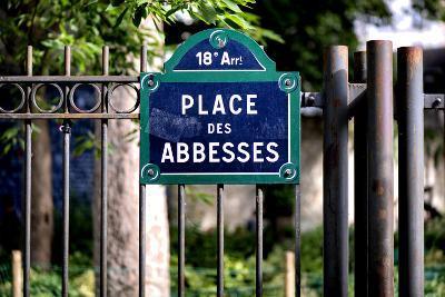 Paris Focus - Place des Abbesses - Montmartre-Philippe Hugonnard-Photographic Print