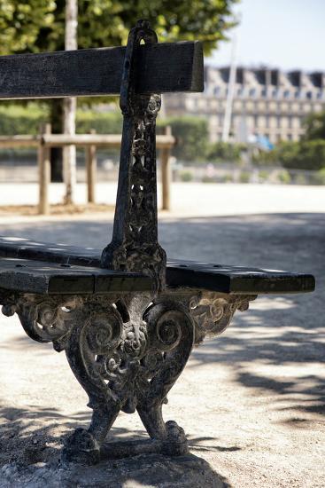 Paris Focus - Public Bench-Philippe Hugonnard-Photographic Print