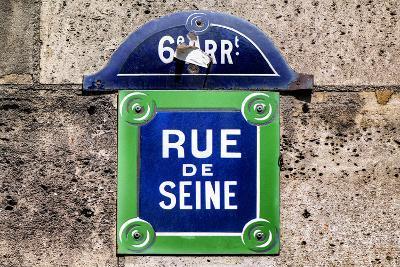 Paris Focus - Rue de Seine-Philippe Hugonnard-Photographic Print