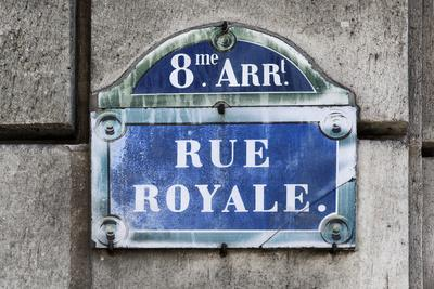 Paris Focus - Rue Royale-Philippe Hugonnard-Photographic Print