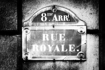 Paris Focus - Rue Royale-Philippe Hugonnard-Photographic Print