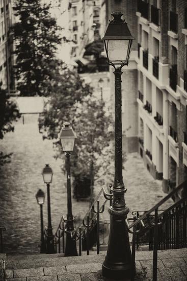 Paris Focus - Stairs of Montmartre-Philippe Hugonnard-Photographic Print