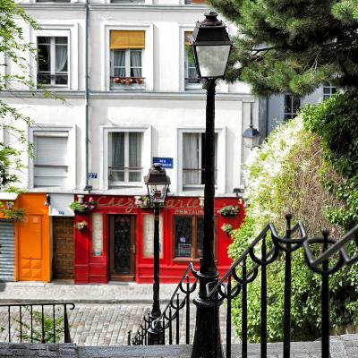Paris Focus - Steps to Montmartre-Philippe Hugonnard-Photographic Print