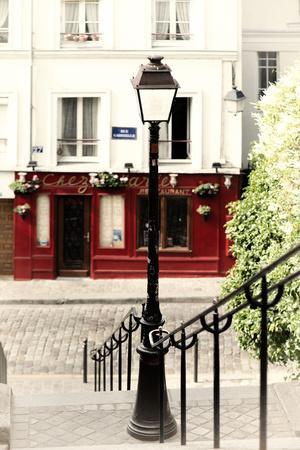 Paris Focus - Steps to Montmartre-Philippe Hugonnard-Photographic Print