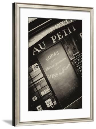 Paris Focus - Vins de France-Philippe Hugonnard-Framed Photographic Print
