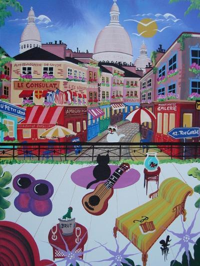 Paris, France, 2010-12-Herbert Hofer-Giclee Print