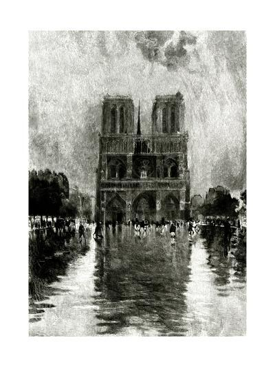 Paris, France - Notre-Dame--Giclee Print