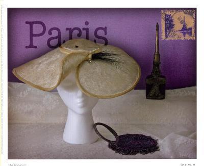 Paris Hat-Judy Mandolf-Art Print