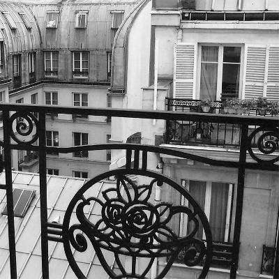 Paris Hotel I-Alison Jerry-Art Print