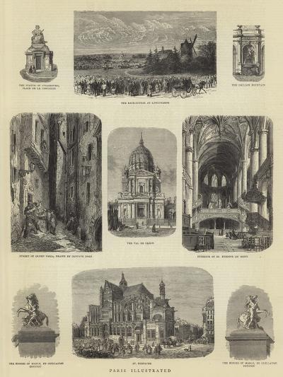 Paris Illustrated-Guido Bach-Giclee Print