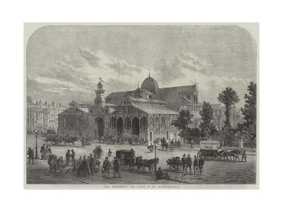 Paris Improvements, New Market of the Temple--Giclee Print
