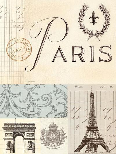 Paris in Memory-Marco Fabiano-Art Print
