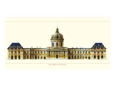 Paris, Institut de France-Libero Patrignani-Art Print