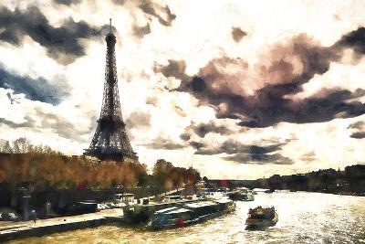 Paris Landscape-Philippe Hugonnard-Giclee Print