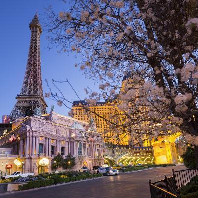 Paris Las Vegas Hotel, Strip, South Las Vegas Boulevard, Las Vegas, Nevada, Usa-Rainer Mirau-Photographic Print
