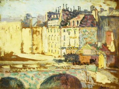 Paris, Le Pont Neuf-Maximilien Luce-Giclee Print