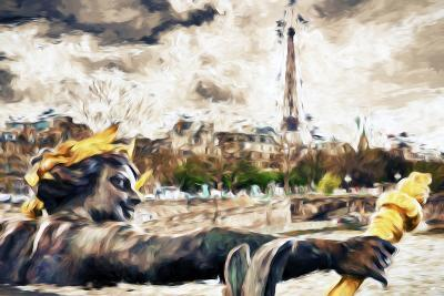 Paris Liberty - In the Style of Oil Painting-Philippe Hugonnard-Giclee Print