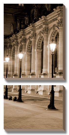 Paris Lights II-Jeff Maihara-Canvas Art Set