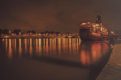 Paris Lost Boat-Sebastien Lory-Photographic Print