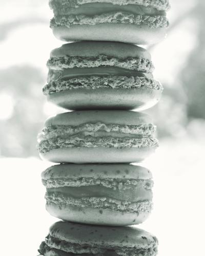 Paris Macaroons BW-Marc Olivier-Photo