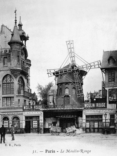 Paris: Moulin Rouge, c1900--Giclee Print