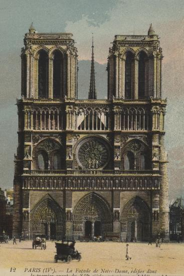 Paris, Notre Dame--Giclee Print