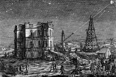 Paris Observatory, France, 1740--Giclee Print