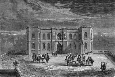 Paris Observatory in the Time of Louis XIV, 17th Century--Giclee Print