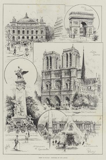 Paris of To-Day--Giclee Print