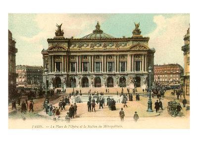 Paris Opera House, France--Art Print