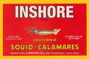 Inshore Brand Squid - Calamares by Paris Pierce