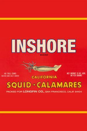 Inshore Brand Squid - Calamares