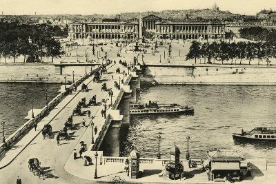 Paris Place Concorde--Photographic Print