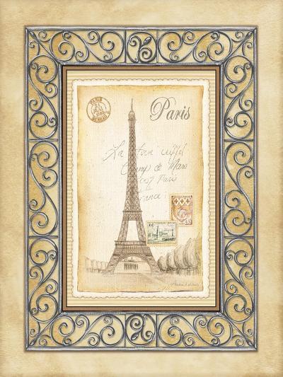 Paris Postcard-Andrea Laliberte-Art Print