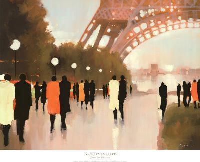 Edward Hopper Wouldve Loved Loraine At >> Paris Remembered Art Print By Lorraine Christie Art Com