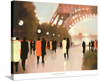Paris Remembered-Lorraine Christie-Stretched Canvas Print