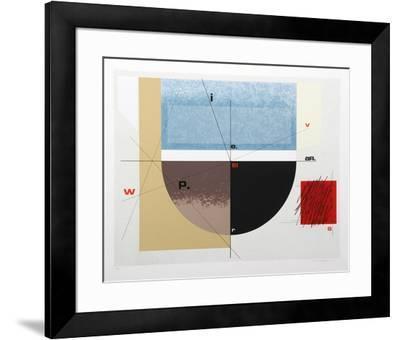 Paris Review-Arnold Hoffman Jr.-Framed Limited Edition
