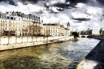 Paris Romantic City-Philippe Hugonnard-Giclee Print