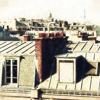 Paris Rooftops II-Philippe Hugonnard-Giclee Print