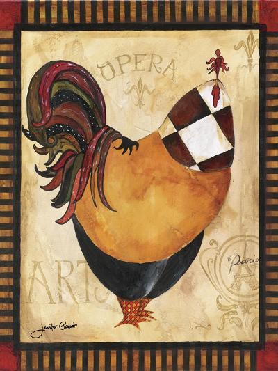 Paris Rooster I-Jennifer Garant-Giclee Print