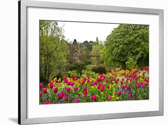 Paris's Parc De Buttes-Chaumont-cec72-Framed Photographic Print