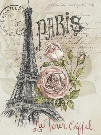 Paris Sketchbook I-Jennifer Paxton Parker-Premium Giclee Print