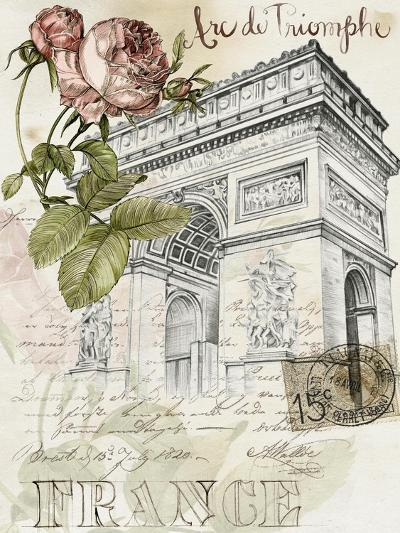 Paris Sketchbook II-Jennifer Paxton Parker-Art Print