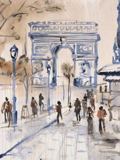 Paris Street 1-Madelaine Morris-Art Print
