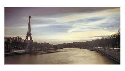 Paris Sunset-Assaf Frank-Art Print