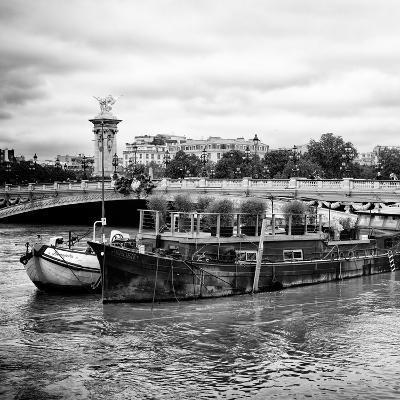 Paris sur Seine Collection - Afternoon in Paris VII-Philippe Hugonnard-Photographic Print
