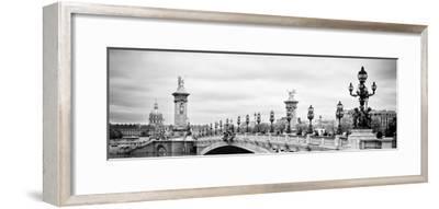 Paris sur Seine Collection - Alexandre III Bridge VI-Philippe Hugonnard-Framed Photographic Print